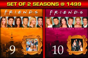 Video & Music - FRIENDS: THE COMPLETE SEASON 9 / FRIENDS: THE COMPLETE SEASON 10 - BD