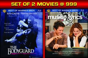 Drama Movies (English) (English) - THE BODYGUARD / MUSIC and LYRICS - BD