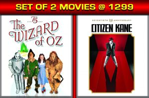 Drama Movies (English) (English) - THE WIZARD OF OZ / CITIZEN KANE 70TH ANNIVERSARY EDITION - BD