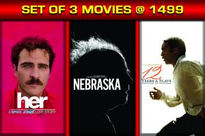 Drama Movies (English) (English) - 12 YEARS A SLAVE / HER / NEBRASKA  - BD