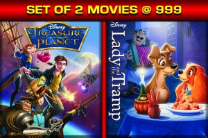 English Movies - TREASURE PLANET / LADY & THE TRAMP - BD