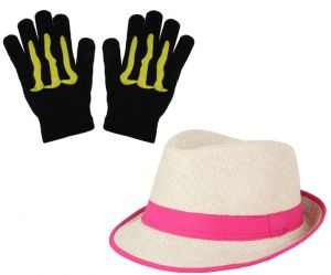 Sushito Combo Of Stylih Hat Women With Hand Gloves Jsmfhcp1308-jsmfhhg0036
