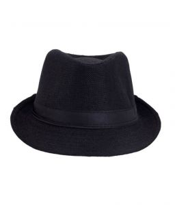 Pursho Fedora Hat For Men - Black