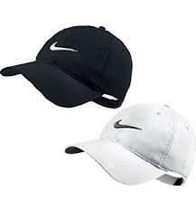 Nike Sign Caps For Man - Blank And White 2qty