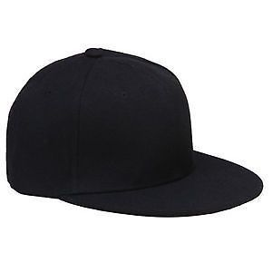 Black Hiphop Snapback Caps Hats For Cool Men Gents Guys Trendy