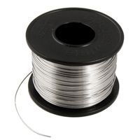 Diycrafts Soldering Flux Tin Lead Solder Wire Spool 0.6mm Dia 63 Percent Tin 37 Percent Lead Wire