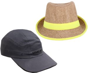 Caps, Hats (Women's) - Sushito Set Of Two Summer Protect Cap