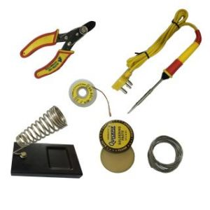 Tool Sets - 6 in1 Soldering Iron Kit with Wire Stripper