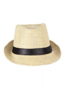 Crosscreek Casual Beige Solid Hat ( Hat09 )