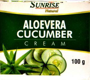 Face Care - Organic Aloevera Cucumber Cream
