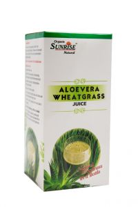 Organic Aloevera Wheat Grass Juice