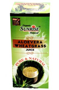 Organic Aloevera Whetagrass Juice