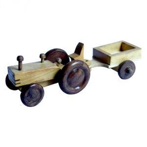 Meddy Craft Metal Tractor Trolly Gift