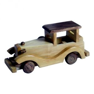 Meddy Craft Wooden Vintage Car