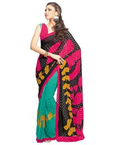 Vipul,Pick Pocket,La Intimo,Platinum Women's Clothing - Vipul Branded Designer Georgette Catalog Saree(Product Code)_11144