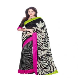 Vipul Branded Designer Bhagalpuri Silk Lace Border Catalog Saree(product Code)_11524
