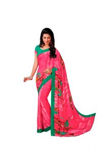 Vipul Women's Clothing - Vipul Branded Designer Georgette Catalog Saree(Product Code)_12322