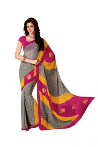 Vipul Women's Clothing - Vipul Branded Designer Georgette Catalog Saree(Product Code)_12610