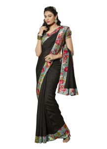 Vipul Womens Bhagalpuri Silk Saree (multicolor)(product Code)_13145