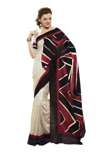 Vipul Womens Bhagalpuri Silk Saree (multicolor)(product Code)_13148
