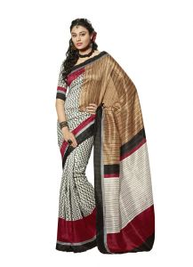 Vipul Womens Bhagalpuri Silk Saree (multicolor)(product Code)_13152