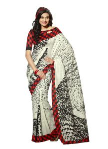 Vipul Womens Bhagalpuri Silk Saree (multicolor)(product Code)_13159