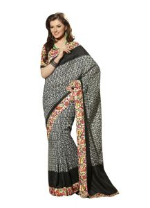 Vipul Womens Bhagalpuri Silk Saree (multicolor)(product Code)_13160