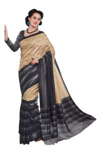 Vipul Womens Thappa Silk Self Embroideried Saree (multicolor)(product Code)_13213