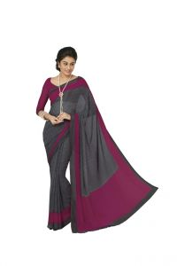 Vipul Women's Clothing ,Women's Accessories ,Womens Footwear  - Vipul Womens Georgette Saree (Multicolor)(Product Code)_13403