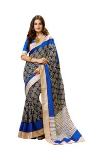 Vipul Womens Bhagalpuri Silk Lace Bordered Saree (multicolor)(product Code)_13509