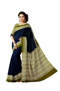 Vipul Womens Bhagalpuri Silk Saree (multicolor)(product Code)_13642