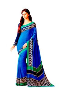 Vipul Womens Crepe Saree (multicolor)(product Code)_14123