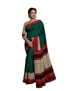 Vipul Women's Clothing ,Women's Accessories ,Womens Footwear  - Vipul Womens Bhagalpuri silk Saree (Multicolor)(Product Code)_14316