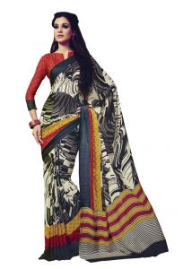 Vipul,Oviya,Soie Sarees - Vipul Womens Satin saree (Multicolor)(Product Code)_14706