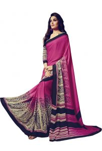 Vipul Sarees (Misc) - Vipul Womens Satin saree (Multicolor)(Product Code)_14711