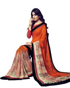Vipul Sarees (Misc) - Vipul Womens Satin saree (Multicolor)(Product Code)_14718