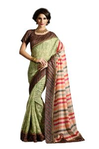 Vipul Multicoloured Art Silk Saree With Blouse Piece (code - 15479)