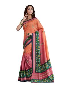 Vipul Multicoloured Art Silk Saree With Blouse Piece (code - 18007)