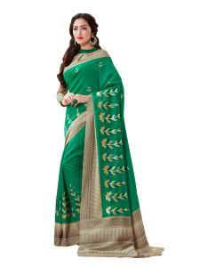 951a9143359 Vipul Multicoloured Art Silk Saree with blouse piece (Code - 18018)