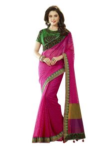 Vipul Womens Heavy Embroideried Art Silk Saree (multicolor)(product Code)_2918