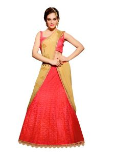 Vipul Multicoloured Chiffon Saree With Blouse Piece (code - 3115)