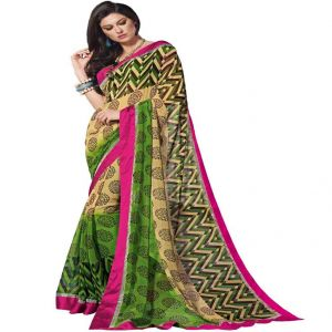 Vipul Branded Designer Georgette Lace Border Catalog Saree(product Code)_9910