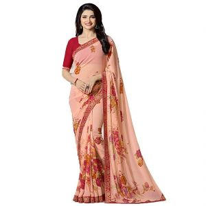 Ruchika Fashion Latest Designer Printed Georgette Saree.(code-v-new-18154)