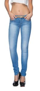 Tarama Blue Color Jeans For Women