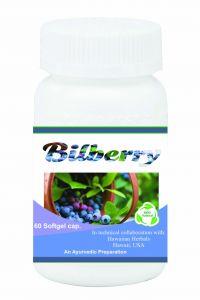 Hawaiian Herbal Bilberry Softgel Capsule 60 Softgels