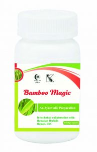 Hawaiian Herbal Bamboo Magic Softgel Capsule 60 Softgel