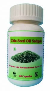 Hawaiian Herbal Chia Seed Oil Softgels