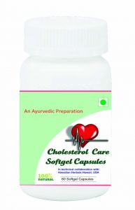 Hawaiian Herbal Cholesterol Care Softgel Capsule 60 Softgels