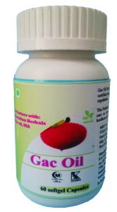 Hawaiian Herbal Gac Oil Softgel Capsule