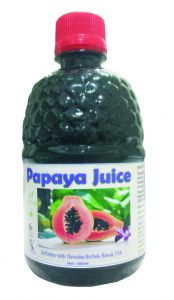 Hawaiian Herbal Papaya Juice